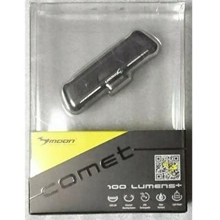 未開封 LEDフロントライト MOON comet USB充電 100ルーメン(パーツ)