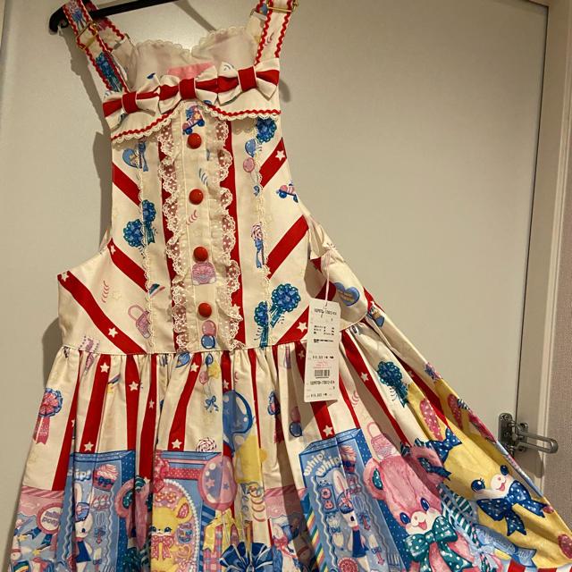 Angelic Pretty(アンジェリックプリティー)の最終値下げAngelic Pretty Toy Doll Box サロペット レディースのパンツ(サロペット/オーバーオール)の商品写真