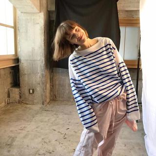コモリ(COMOLI)のoutil 20ss バスクシャツ  1 未使用 (Tシャツ/カットソー(七分/長袖))