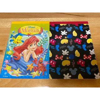 Disney - 《おまとめA》メモ帳 ディズニー アリエル ミッキー・ミニー等