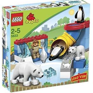 Lego - 5633 レゴデュプロ デュプロ 白くまとペンギン レゴ