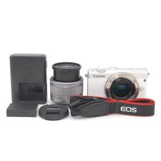 Canon - Wi-Fi機能付き♪Canon EOS M100 レンズキット(ホワイト)