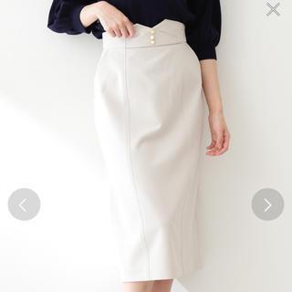 プロポーションボディドレッシング(PROPORTION BODY DRESSING)のメタルボタンロングペンシルスカート   タイトスカート(ロングスカート)