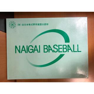 ミズノ(MIZUNO)のNAIGAI BASEBALL 12個入り H号 (ボール)