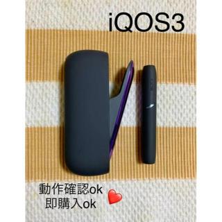 アイコス(IQOS)のiQOS アイコス 3 ブラック(タバコグッズ)