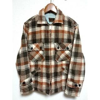 リーバイス(Levi's)の美品☆Sears 60's デカ五角形TALONジップ ネルシャツ(シャツ)