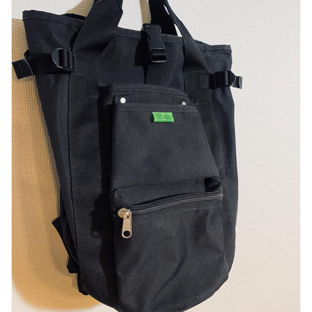 PORTER(ポーター)の吉田カバン PORTER  ユニオン リュック ブラック メンズのバッグ(バッグパック/リュック)の商品写真
