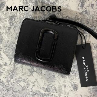 MARC JACOBS - 新品未使用 MARC JACOBS マークジェイコブス  折り財布 ブラック