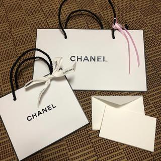 シャネル(CHANEL)の未使用♡CHANEL♡ショップ袋♡メッセージカード付(ショップ袋)