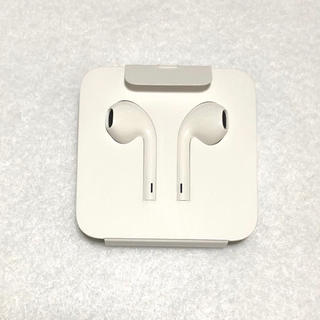 アイフォーン(iPhone)のiPhone 純正イヤホンのみ アップル 未使用品(ヘッドフォン/イヤフォン)
