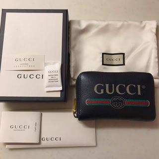 Gucci - gucci グッチ ビンテージロゴ ジップアップ コインケース