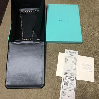 ティファニー(Tiffany & Co.)のティファニー tiffany  Tネックレス(ネックレス)