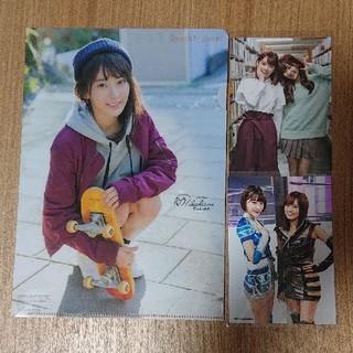 エイチケーティーフォーティーエイト(HKT48)の宮脇咲良 生写真&クリアファイルセット(アイドルグッズ)