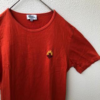 ヴィヴィアンウエストウッド(Vivienne Westwood)のVivienne Westwood MAN オレンジ 半袖 カットソー Tシャツ(Tシャツ/カットソー(半袖/袖なし))