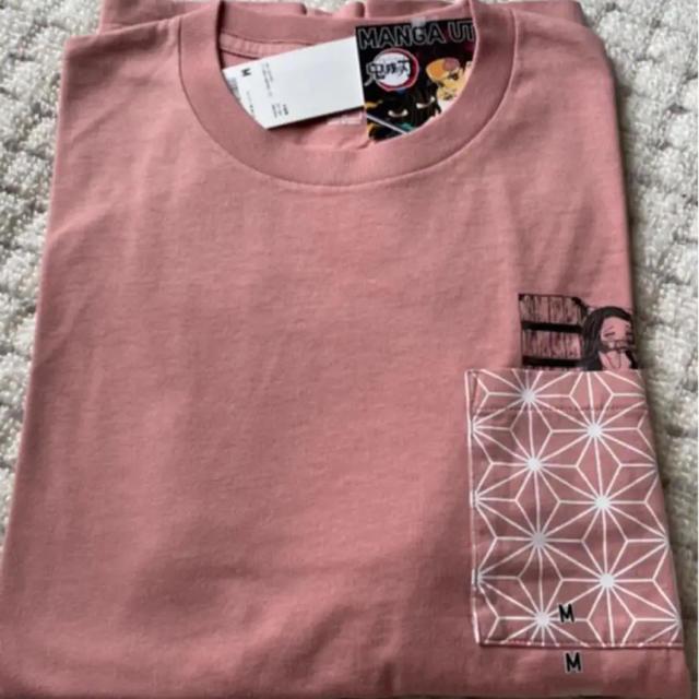 UNIQLO(ユニクロ)のUNIQLO 鬼滅の刃 コラボ Tシャツ レディースのトップス(Tシャツ(半袖/袖なし))の商品写真