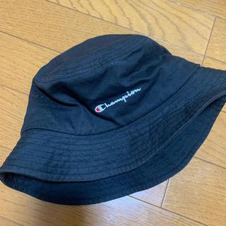 チャンピオン(Champion)の【最終値下げ!】送料込み800円!champion バケットハット 黒(ハット)