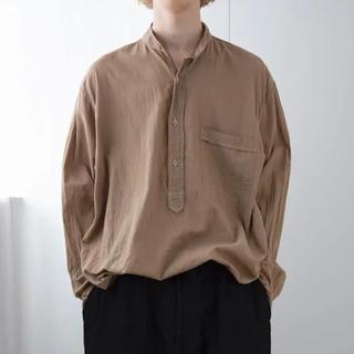 COMOLI - 【新品未使用】 サイズ1  COMOLI 20ss ベタシャン シャツ