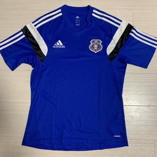 アディダス(adidas)の大阪国体 岡山代表 サッカー Tシャツ レア!(Tシャツ/カットソー(半袖/袖なし))