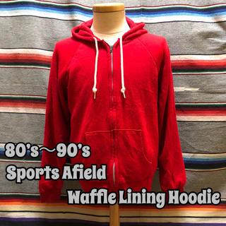80's~90's Sports Afield ワッフル ライニング パーカー(パーカー)