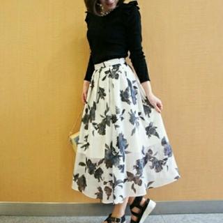 31 Sons de mode - 美品 トランテアンソンドゥモード 花柄スカート