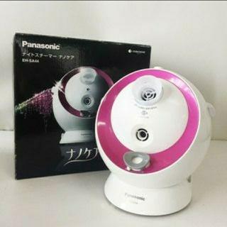 パナソニック(Panasonic)のナイトスチーマー ナノケア EH-SA44 パナソニック アロマ 潤い ナノイー(フェイスケア/美顔器)