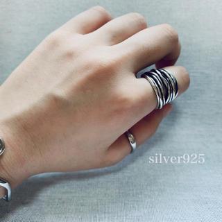 マルタンマルジェラ(Maison Martin Margiela)のsilver925  ランダムリング(リング(指輪))