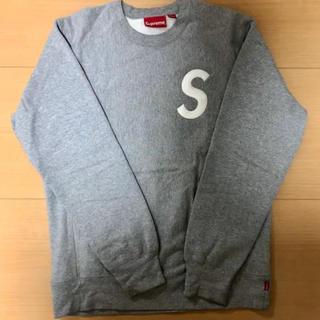 Supreme - supreme sロゴ クルーネックスウェット