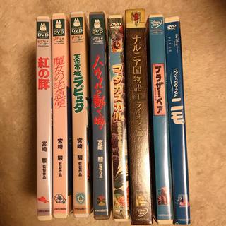 ジブリ - ジブリ・ディズニー計8点DVDSET