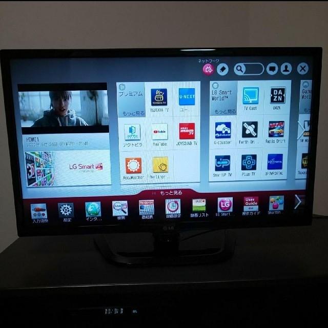 LG Electronics(エルジーエレクトロニクス)のYouTube/U-NEXT ☆★ Smart TV LG 32型液晶テレビ スマホ/家電/カメラのテレビ/映像機器(テレビ)の商品写真