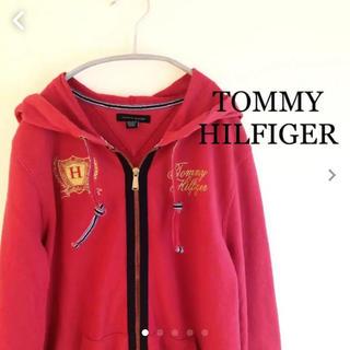 トミーヒルフィガー(TOMMY HILFIGER)のトミーヒルフィガー  ジップアップ パーカー  M TOMMY HILFIGER(パーカー)