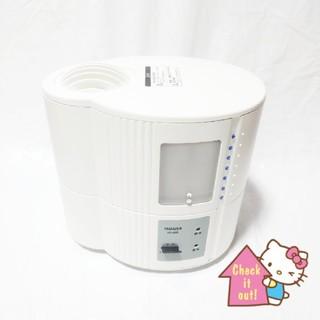 ヤマゼン(山善)の山善❤スチーム加湿器 KS-A25W ホワイト(加湿器/除湿機)