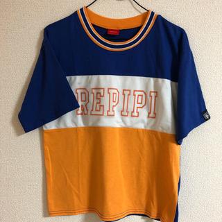 レピピアルマリオ(repipi armario)のレピピアルマリオ メッシュ切り替えTシャツ(Tシャツ/カットソー)