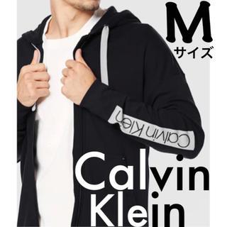カルバンクライン(Calvin Klein)の新品 Calvin Klein パーカー Mサイズ ブラックカルバンクライン(パーカー)