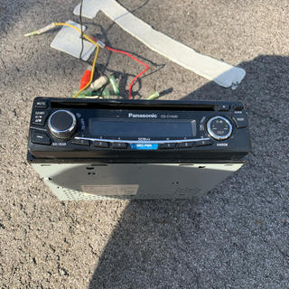 パナソニック(Panasonic)のPanasonic、CDサウンドステーション、即日発送(車内アクセサリ)