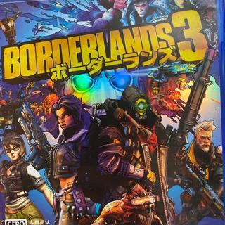 PlayStation4 - ステッカー付き ボーダーランズ3 PS4