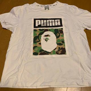 アベイシングエイプ(A BATHING APE)のBAPE×PUMA コラボTシャツ XL(Tシャツ/カットソー(半袖/袖なし))