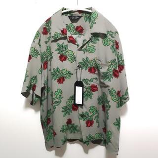 UNUSED - 坂口健太郎着用 UNUSED 薔薇 アロハシャツ 18SS
