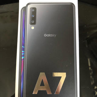 Galaxy - ★ Galaxy A7 ★ギャラクシー ブラック 新品未開封 残債なし