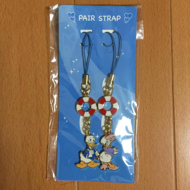 Disney(ディズニー)のディズニー ペアストラップ  ドナルド&デイジー エンタメ/ホビーのおもちゃ/ぬいぐるみ(キャラクターグッズ)の商品写真
