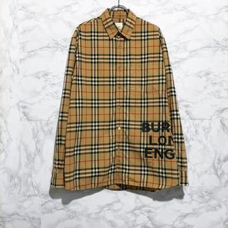 BURBERRY - Burberry 19SS チェックシャツ