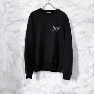 ディオール(Dior)のDIOR 19AW レイモンド ロゴスウェットトレーナー(スウェット)