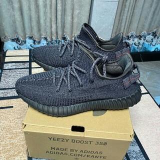 adidas - Adidas YEEZY BOOST 350Black (FU9006)27cm