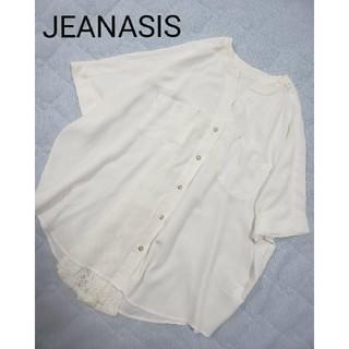 ジーナシス(JEANASIS)のJEANASiSブラウス(シャツ/ブラウス(半袖/袖なし))