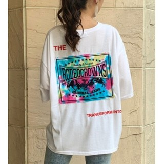 RODEO CROWNS WIDE BOWL - ♪ビッグTシャツ☆ホワイト♪