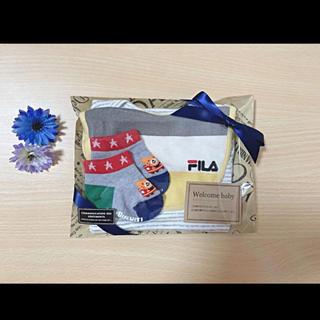 フィラ(FILA)の出産祝い✩︎⡱男の子19(ロンパース)