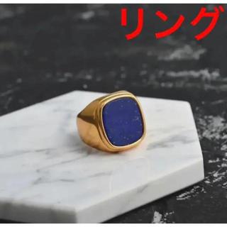 マルタンマルジェラ(Maison Martin Margiela)の✨最高級✨rapis signet ring 《gold》(リング(指輪))