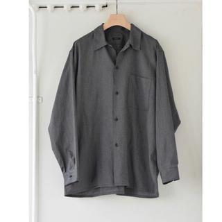 コモリ(COMOLI)のCOMOLI 20AW ヨリ杢 2 オープンカラー シャツ コモリ(シャツ)
