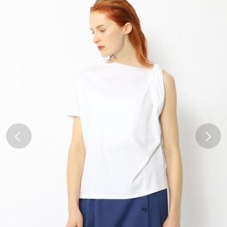デプレ(DES PRES)のDES PRES デプレ コットン アシンメトリー トップス(Tシャツ(半袖/袖なし))