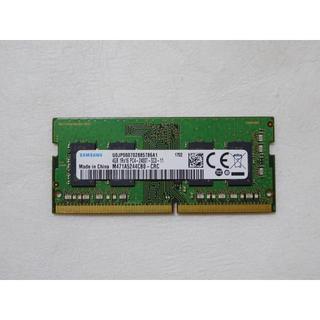 サムスン(SAMSUNG)のサムスン ノートパソコン用メモリ 4GB PC4 DDR4-2400T(PCパーツ)