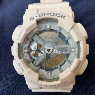 カシオ G-SHOCK/G-ショック ホワイト(腕時計(デジタル))